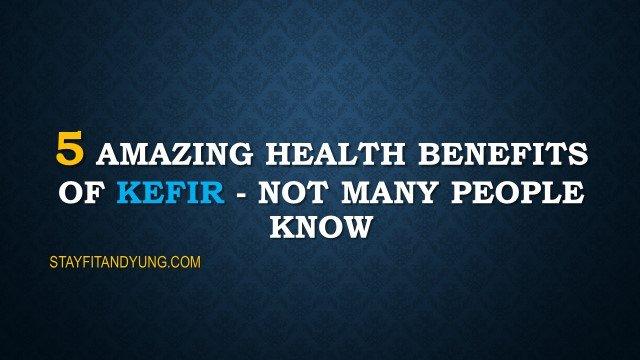 the amazing health benefits of kefir