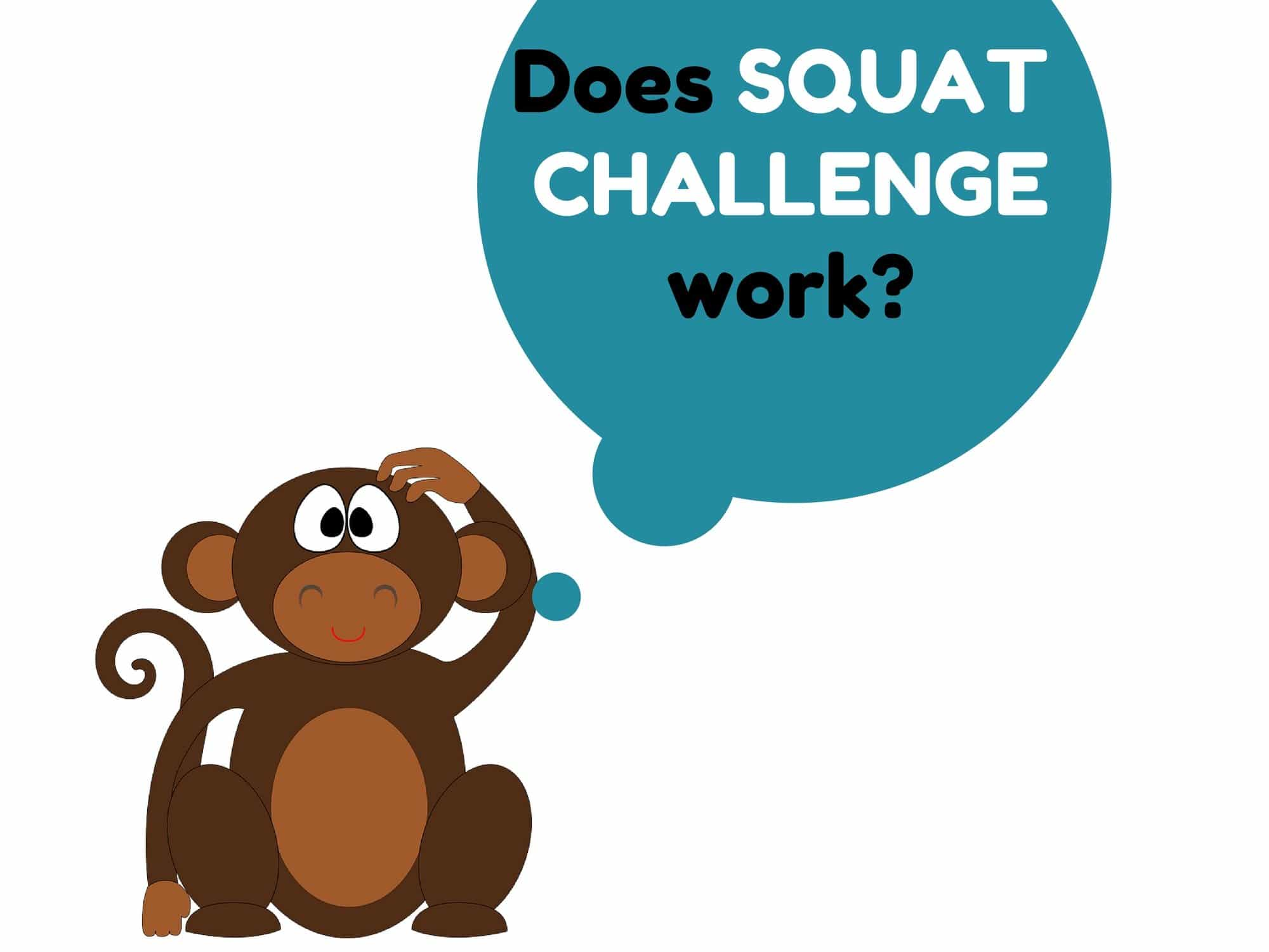 Does the squat challenge work