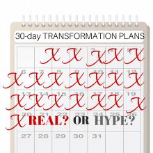 30 day transformation