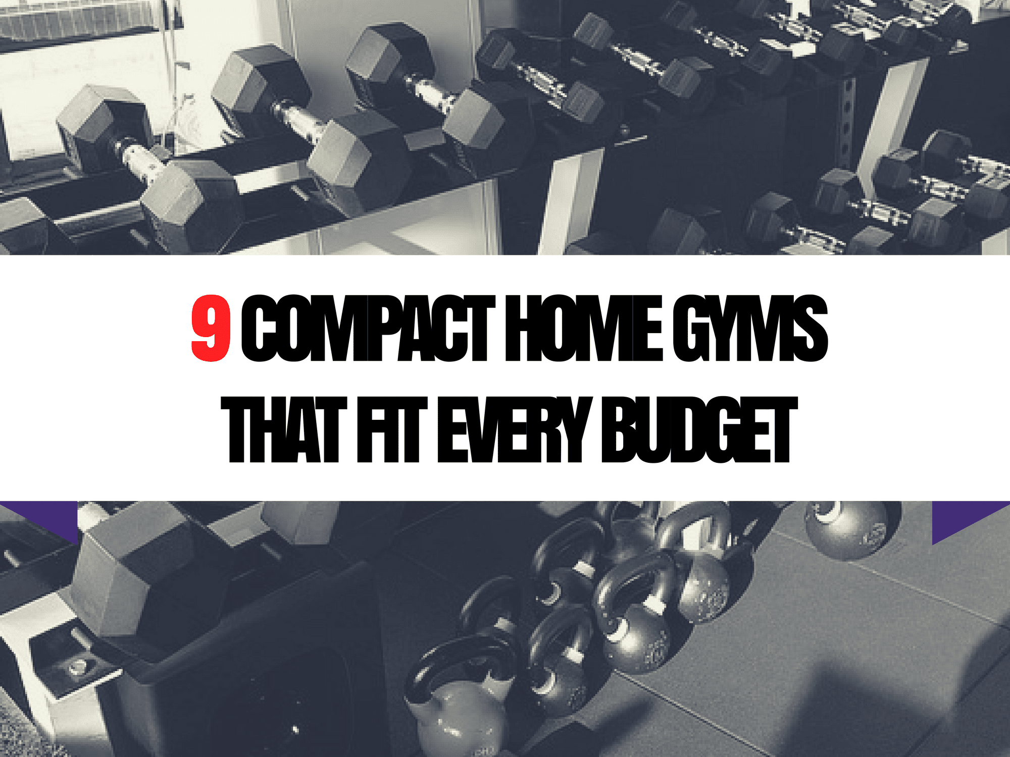 9 BEST Compact Home Gyms For Every Budget