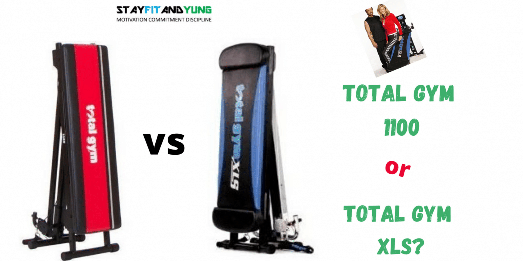 Total Gym 1100 1100 vs XLS