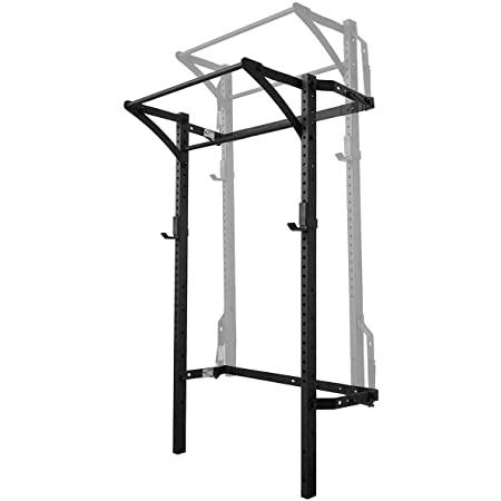 folding wall mounted squat rack